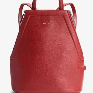 Red Matt and Nat Backpack